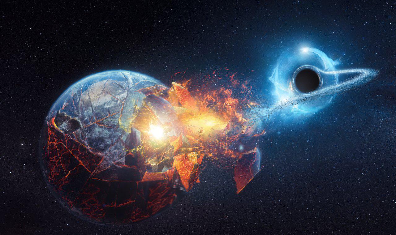 سیاه چاله ها می توانند زمین را نابود کنند؟