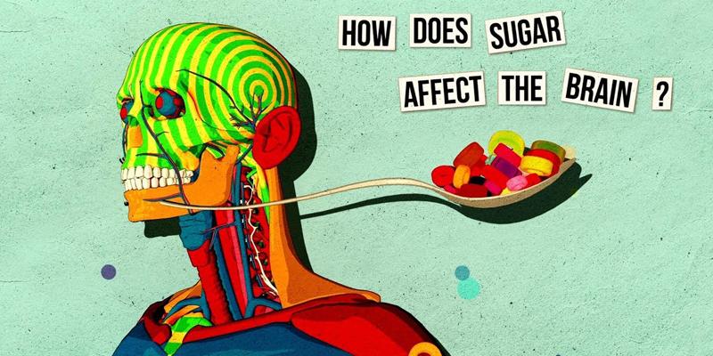 چگونه قند روی مغز تاثیر می گذارد؟