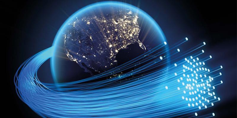 فیبر نوری و اینترنت