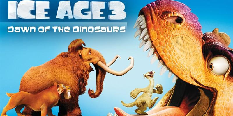 معرفی انیمیشن: عصر یخبندان: ظهور دایناسورها