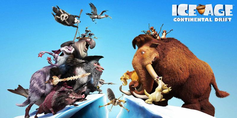 معرفی انیمیشن: عصر یخبندان: رانش قارهای