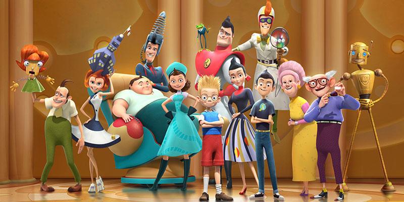 انیمیشن ملاقات با خانواده رابینسون