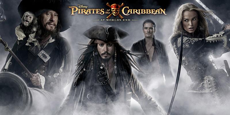 دزدان دریایی کارائیب: پایان جهان