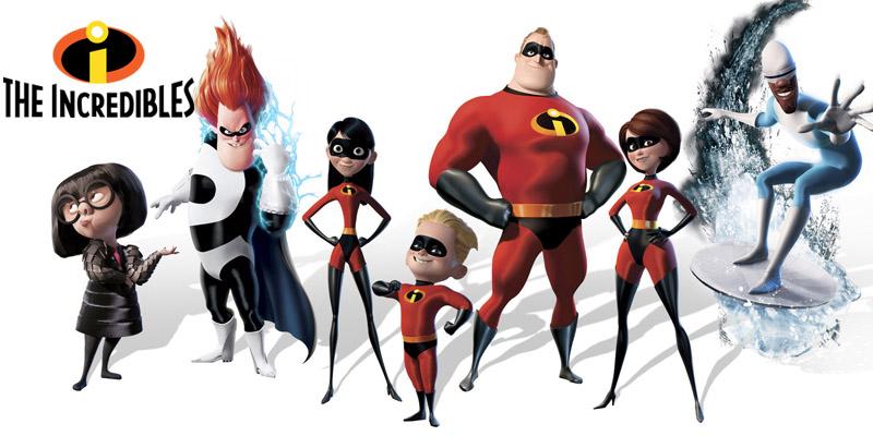 انیمیشن شگفت انگیزان (The Incredibles)