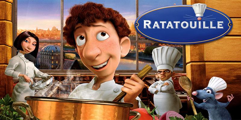 انیمیشن رتتویی (Ratatouille)