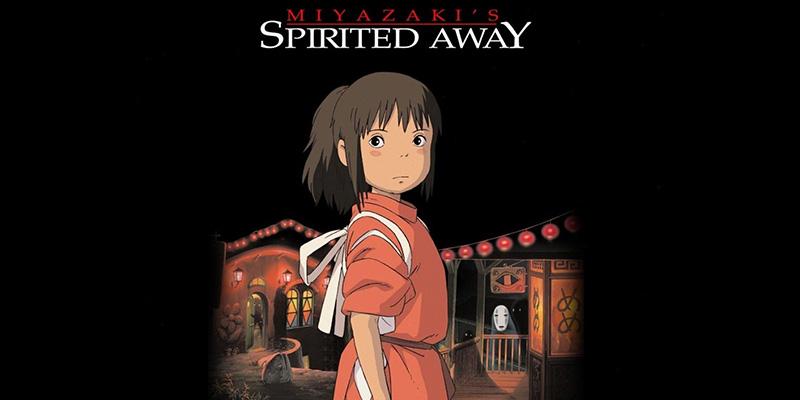انیمیشن شهر اشباح (Spirited Away)